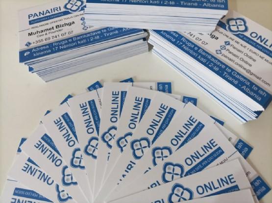 Kartvizita plastike me oferte / kartvizita per biznes / Kartvizita Standarte / KARTVIZITA SPECIALE / Kartvizita tirane Kartvizita ekonomike / Kartvizita biznesi / Kartvizita oferte / KARTVIZITA ME PALOSJE / Printime kartvizita