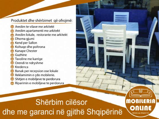 Komplet Me 6 Karrige / Karrige Ngrenie / karrige per tavolina buke / Karrige Per Tavoline Ngrenie / Karrige  Moderne Nga Tapiceri Niku