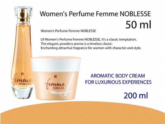 Set Pafrum Femme NOBLESSE  Women's Perfume nga Lr Health Beauty Sistem Albania / Neta